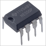 Integrated Circuit - NE555 Timer, 8 pin